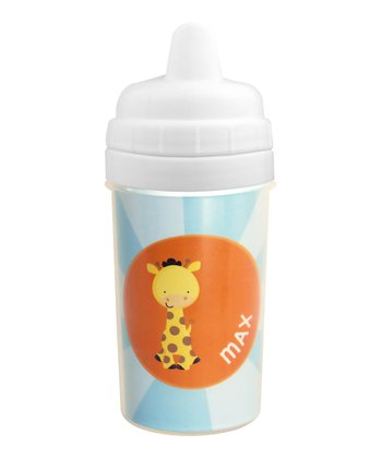 Cute Baby Giraffe Personalized Sippy Cup