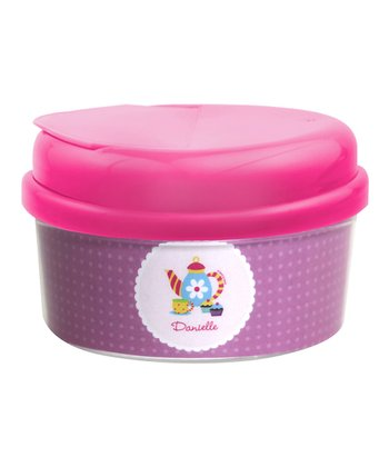 Teatime Personalized Snack Container