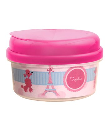 Ohh La La Paris Personalized Snack Container
