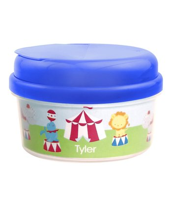 Fun Circus Personalized Snack Container