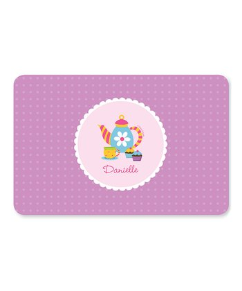 Teatime Personalized Place Mat