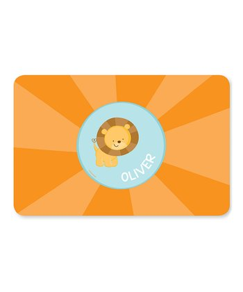 Cute Baby Lion Personalized Place Mat