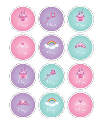 Fairy Tale Waterproof Personalized Sticker Sheet
