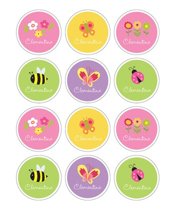 Springtime Waterproof Personalized Sticker Sheet