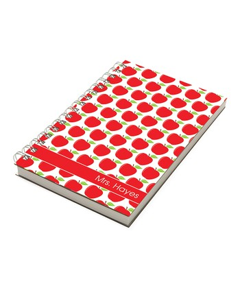 Green & Red Apples Personalized Chunky Notebook