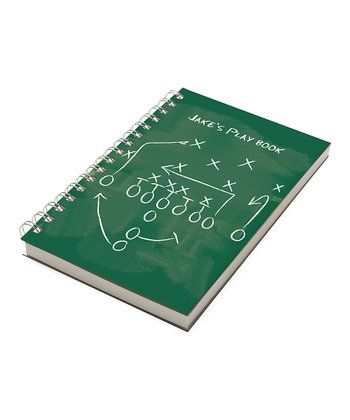 Football Playbook Personalized Chunky Notebook
