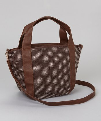 Brown Mini Studs Tote