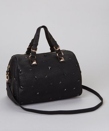 Black Stars Satchel