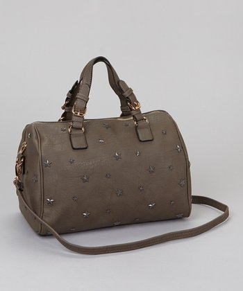 Gray Stars Satchel