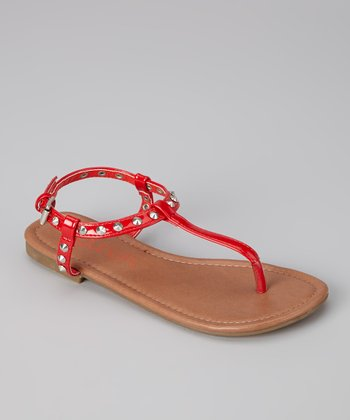 Red Angie Sandal