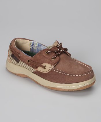 Brown Skippers Boat Shoe - Kids