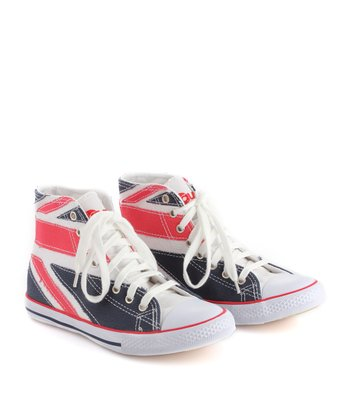 Union Jack Hi-Top Sneaker - Women