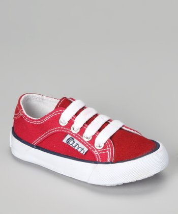 Red Suede Gants Sneaker