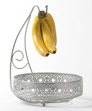 Victorian Lace Banana Hook Basket