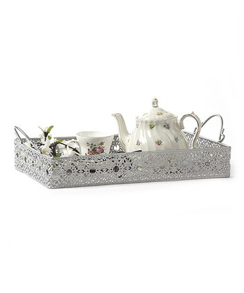 Victorian Lace Rectangular Tray