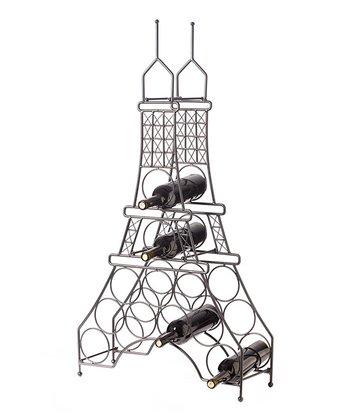 Eiffel Tower 11-Bottle Wine Rack