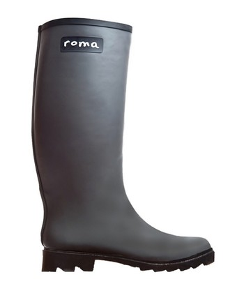 Gray Rain Boot - Women