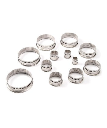Fluted Round 12-Piece Cutter Set