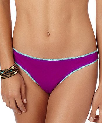 Sky Blue & Vibrant Purple Bikini Briefs
