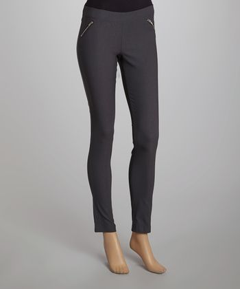Gray Tin Millennium Skinny Pants