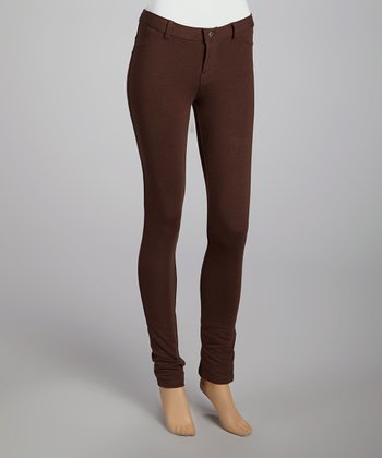 Brown Molotone Pants