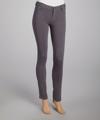 Gray Molotone Pants