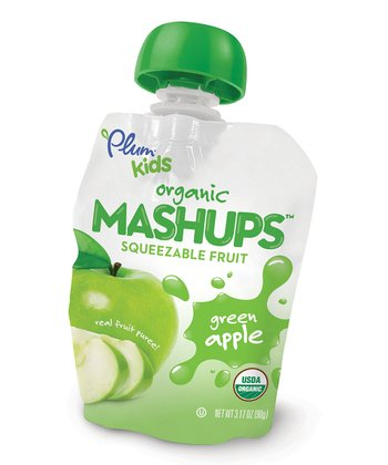 Organic Green Apple Mashups Pouch - Set of 24