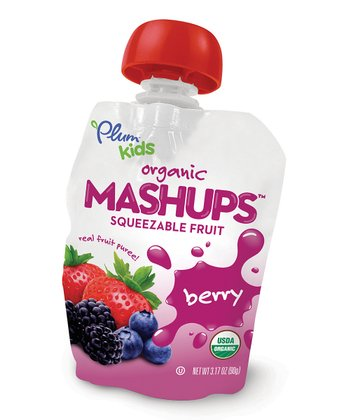Organic Mixed Berry Mashups Pouch - Set of 12