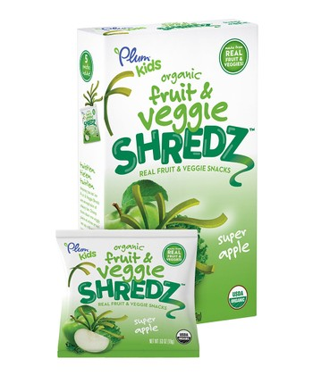 Super Apple Organic Fruit & Veggie Shredz - Set of 40
