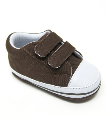 Brown Double-Strap Sneaker
