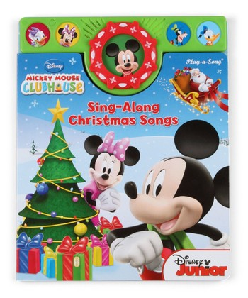 Mickey Mouse Clubhouse Holiday Songbook Board Book