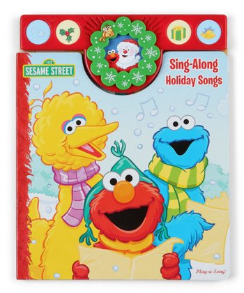 Sesame Street Christmas Holiday Songbook Board Book
