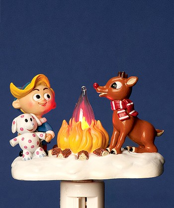 Campfire Rudolph Night-Light