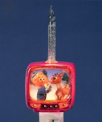 Rudolph TV Night-Light