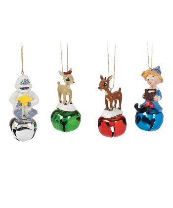 Rudolph Jingle Buddy Ornament Set