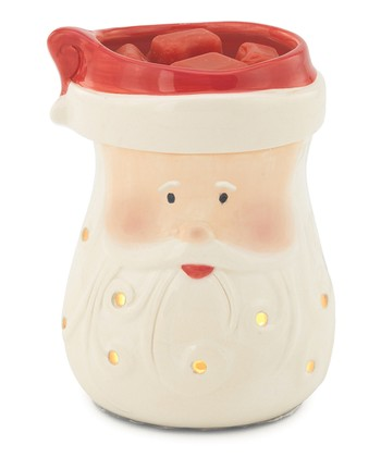 Red & White Santa Illumination Wax Warmer