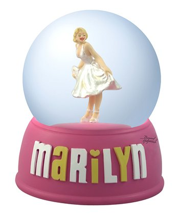 Marilyn Monroe White Dress Water Globe