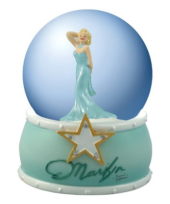 Marilyn Monroe Gold Star Water Globe
