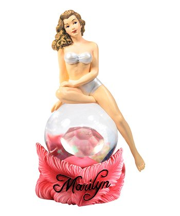 Marilyn Monroe Diamond Water Globe
