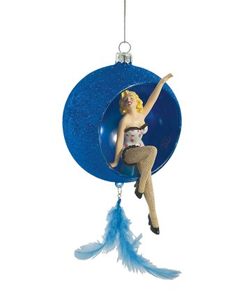 Blue Marilyn Monroe Ornament