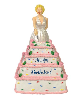Marilyn Monroe Birthday Cake Figurine