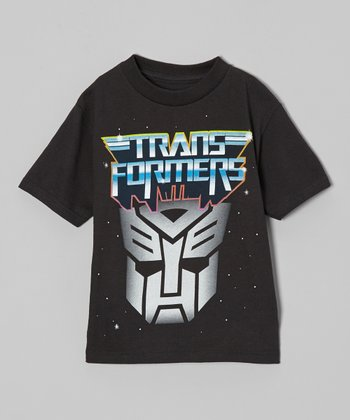 Black Autobots 'Transformers' Tee - Kids