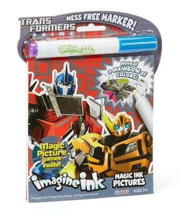 Transformers Prime Magic Ink & Mess-Free Marker