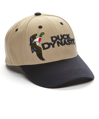 Natural & Navy Duck Dynasty Baseball Cap