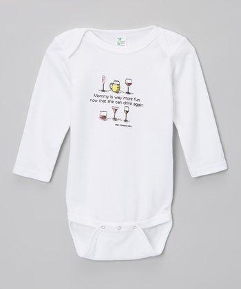 Biased, Baby White 'Way More Fun' Bodysuit