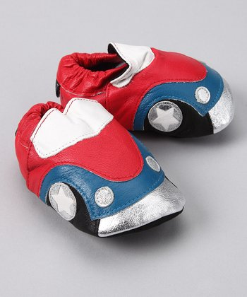 Bobby J Red Cars Shoe