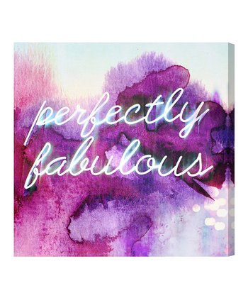 'Perfectly Fabulous' Wall Art