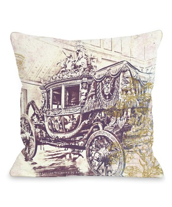 Charles X Throw Pillow
