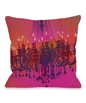Light Me Up Throw Pillow