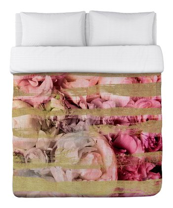 Field of Roses Duvet Cover